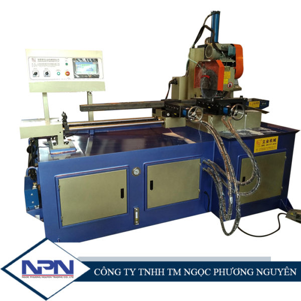 Máy cắt tự động xoay góc YJ-425 CNC