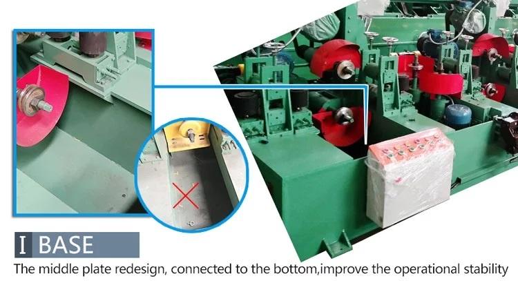 Hệ thống máy đánh bóng inox tự động nạp phôi