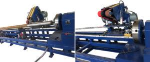 Máy đánh bóng ống inox tự động ray trượt JT-WP
