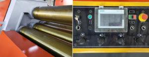 Máy uốn tấm 4 trục bán tự động ERMAK NC W12