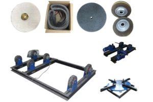 Một số bộ phận máy đánh bóng ống inox công nghiệp