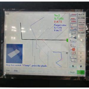 Máy gấp tôn thủy lực ERMAK CNC