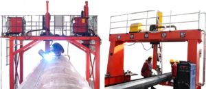 Máy hàn tự động ống kích thước lớn