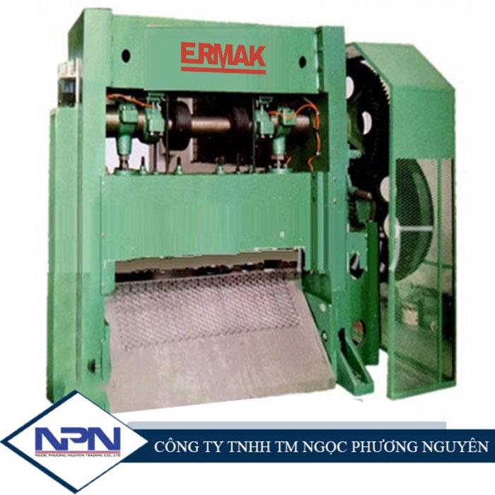 Máy dập dãn lưới thép ERMAK TA80/120/150/220/250 độ dày 0,2-8,0mm