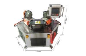 Máy bo vát mép ống co góc XS-80Q 90-135-180°