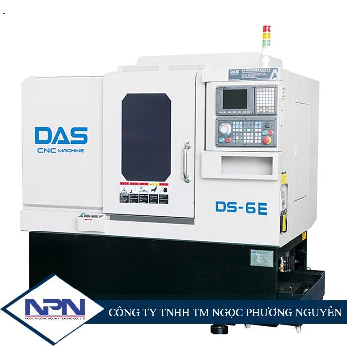 Máy tiện CNC Đài Loan bàn nghiêng thay dao 0,3 giây 4 trục DAS DS-6E