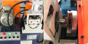 Máy bo vát mép ống một đầu khí nén XS-80-AC