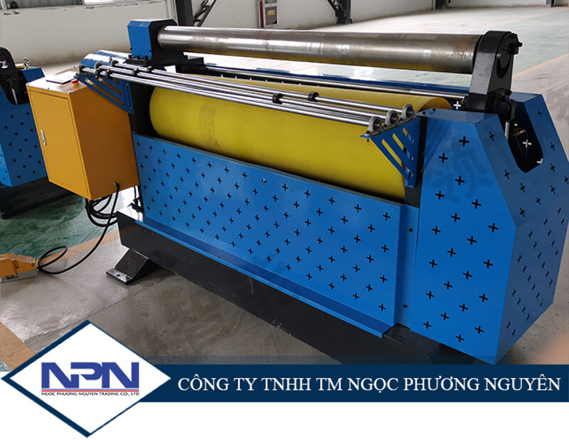 Máy lốc tấm lô cao su chính xác cao LXJYJ500/1000/1500mm