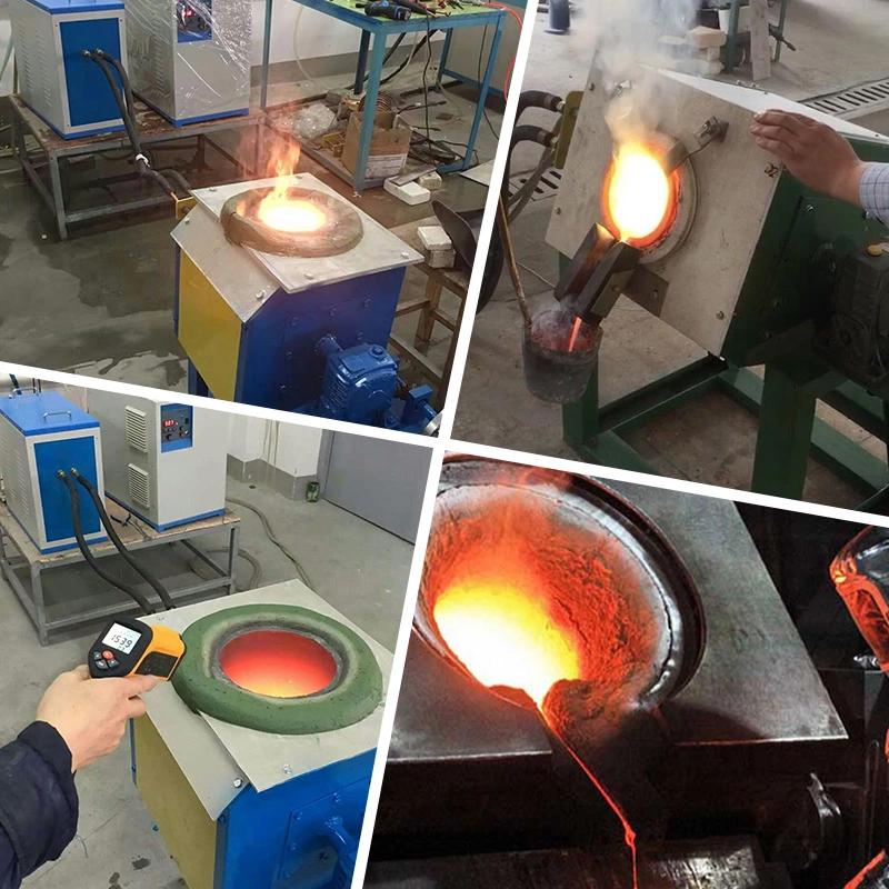 Lò nung nóng chảy cao tần cảm ứng LSZ-15 15kW