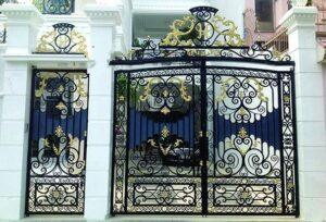 Mẫu cửa cổng sắt nghệ thuật, mỹ thuật đẹp
