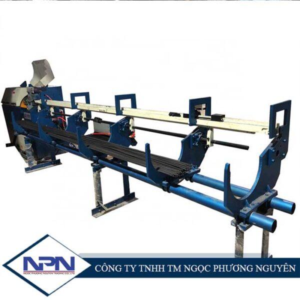 Máy duỗi thẳng dây tự động cắt theo kích thước cài đặt KY-HS3/6