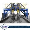 Máy hàn cổng Bruco GBH 4000 2 mỏ, tandem AC DC, hai hồ quang 2 dây