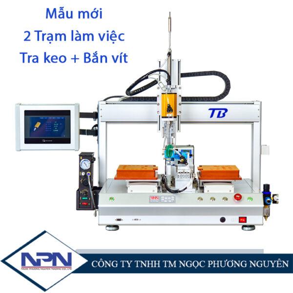 Máy bắn vít, tra keo tự động CNC TB-PE03