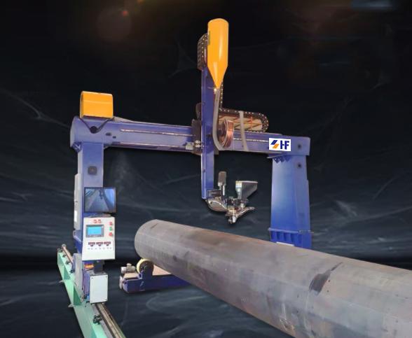 Cổng hàn thông minh điều khiển tự động HF-M1000 1