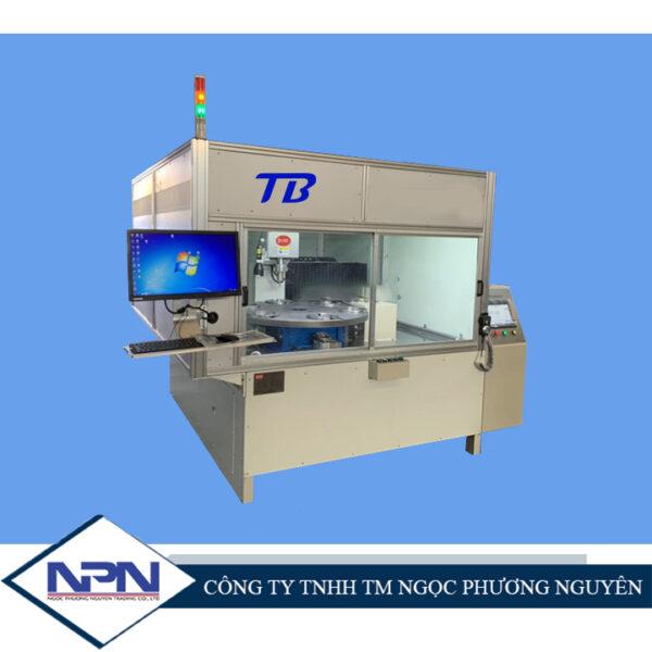 Máy rút đinh tán dạng bàn xoay CNC năm trục