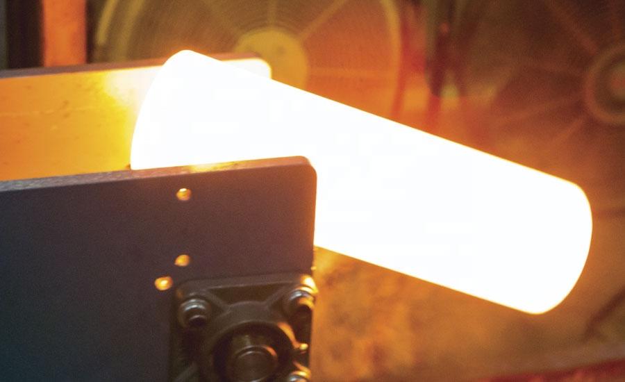 Lò rèn cảm ứng nhiệt độ cao cho kim loại