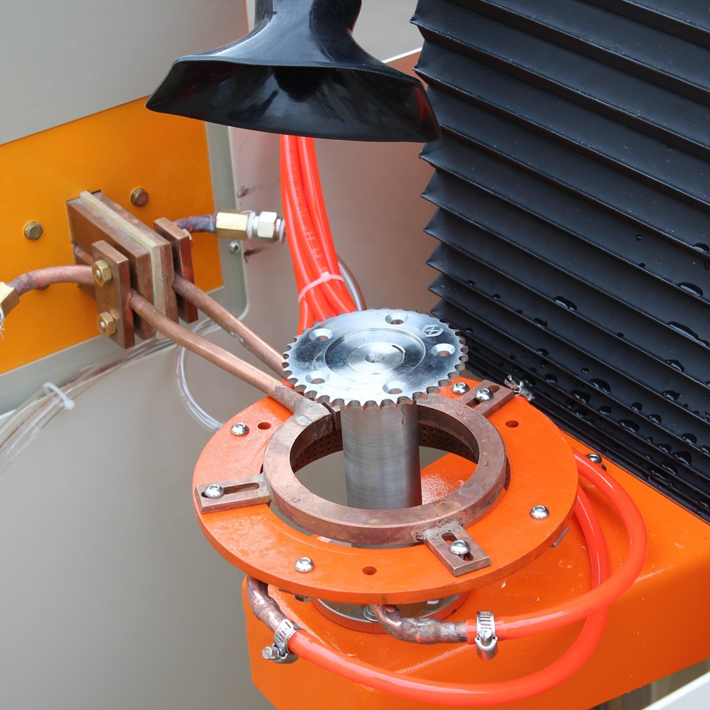 Máy xử lý nhiệt cảm ứng thẳng đứng cho bánh răng