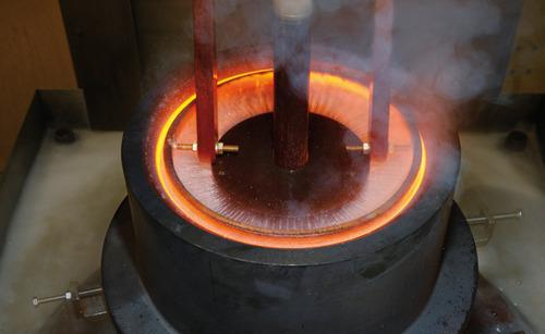 Máy dập tắt cứng cảm tần số cao cho kim loại
