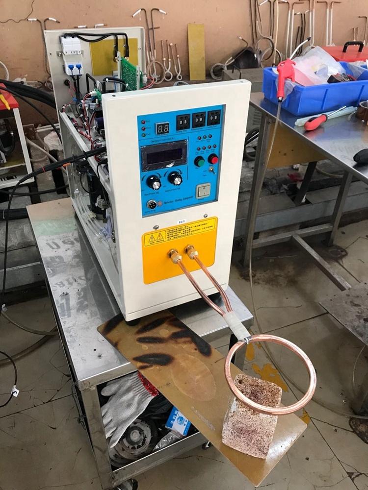 Máy hàn cảm ứng tần số cao để làm nóng thép không gỉ