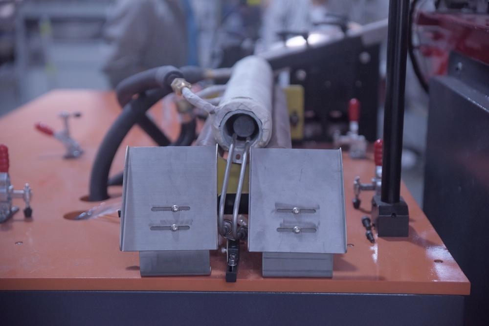 Lò rèn cảm ứng qua hệ thống sưởi cho thép thanh