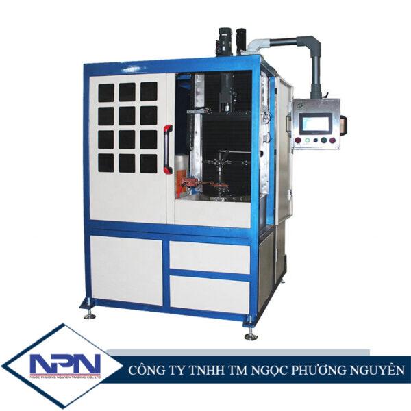 Máy xử lý nhiệt cảm ứng tần số cao cho trục kim loại