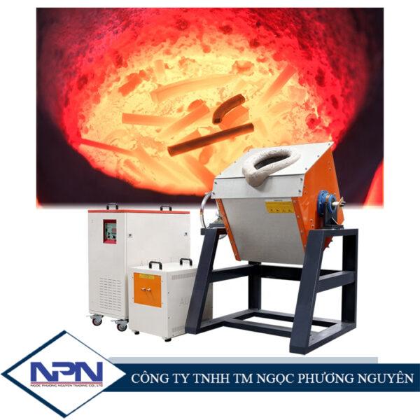 Lò nóng chảy cảm ứng cho kim loại màu